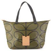 Orla Kiely - Etc Linear Stem Kelp Shopping Bag