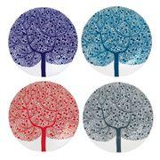 Royal Doulton - Fable Trees 22cm Plate Set 4pce