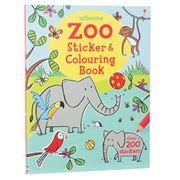 Book - Zoo Sticker & Colouring Book