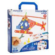Miniland - Mecaniko Activity Set 74pce