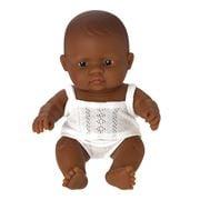 Miniland - Hispanic Baby Girl Doll