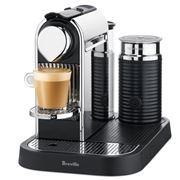 Breville - Nespresso CitiZ & Milk Chrome Coffee Machine
