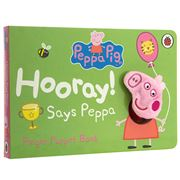 Book - Peppa Pig Hooray! Says Peppa Finger Puppet Book