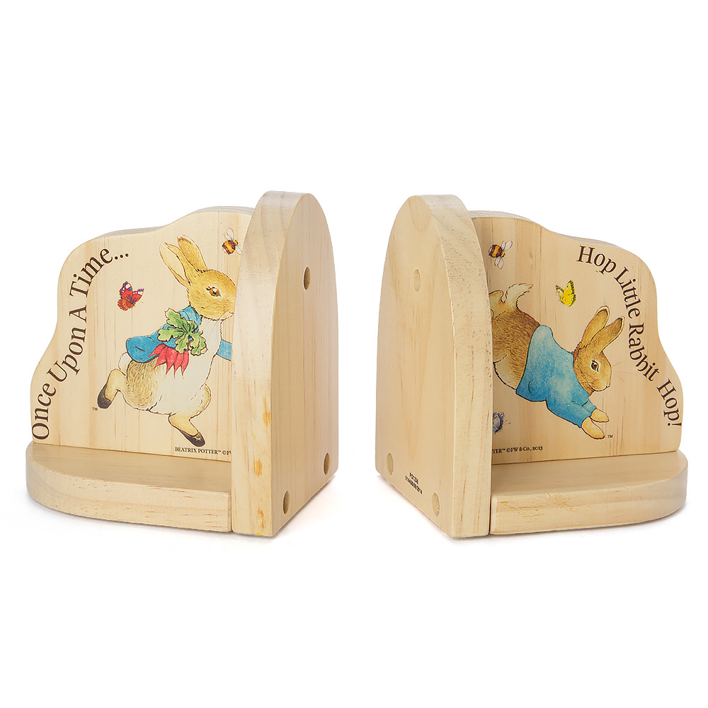 Beatrix Potter - Peter Rabbit Bookends | Peter\'s of Kensington