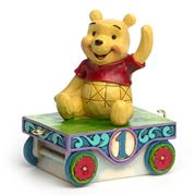 Disney - Pooh-Age 1 Carriage Figurine