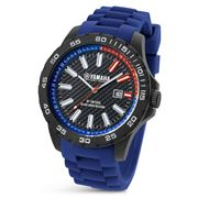 Yamaha  By TW Steel  - Y2 45mm Watch with Blue Strap