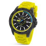 VR|46 By TW Steel - VR2 45mm Watch with Yellow Strap