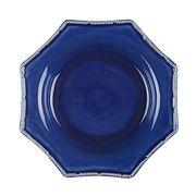 Oscar de la Renta - Pavilion Rim Soup Bowl Indigo
