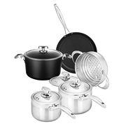 Scanpan - Pro IQ & Clad 5 Cookware Set 5pce
