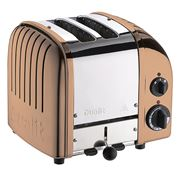 Dualit Copper - 2 Slice Toaster