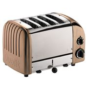 Dualit - NewGen Copper 4 Slice Toaster