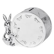 Royal Doulton - Bunnykins Silver Plated Money Box