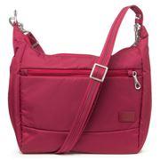 Pacsafe - Citysafe CS100 Cranberry Anti-Theft Travel Handbag