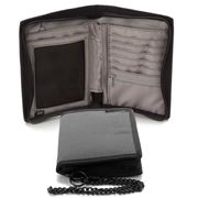 Pacsafe - Z150 Charcoal RFID Blocking Compact Organiser