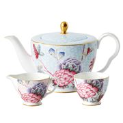 Wedgwood - Cuckoo Teapot, Sugar & Cream Set