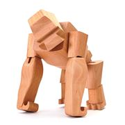 Areaware - Hanno The Wooden Gorilla