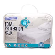 Protect-A-Bed - Total Queen Sized Protection Pack