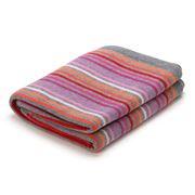 D Lux - Rainbow Knit Pink Pure Cotton Bassinet Blanket