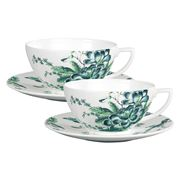 Wedgwood - Jasper Conran Chinoiserie White Tea Set For Two