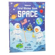 Book - First Sticker Book: Space