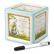 Child To Cherish - Christening Block To Grow Blue Money Box