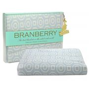 Branberry - Art Deco Blue Cot Blanket
