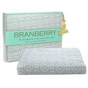 Branberry - Art Deco Blue Cot Blanket