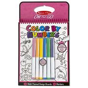 Melissa & Doug - Colour By Numbers Pink Colouring Pad