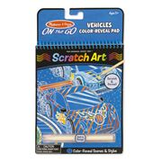 Melissa & Doug - Vehicles Scratch Art Pad