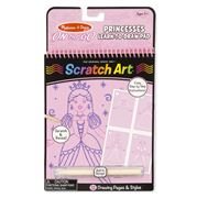 Melissa & Doug - Princesses Scratch Art Pad