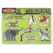 Melissa & Doug - Zoo Animals Sound Puzzle 8pce
