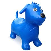 Happy Hopperz - Blue Playful Puppy Space Hopper