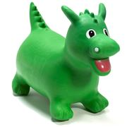 Happy Hopperz - Green Daring Dino Large Space Hopper