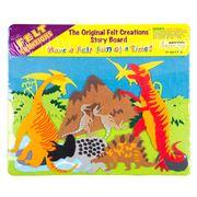 Felt Creations - Prehistoric Dinosaurs Story Board