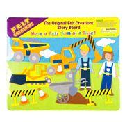 Felt Creations - Construction Story Board