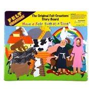 Felt Creations - Noah's Ark Story Board