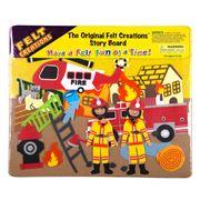 Felt Creations - Fire Engine Story Board