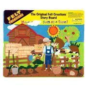Felt Creations - Veggie Patch Story Board