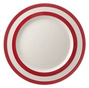 Cornishware - Red Dinner Plate 28cm