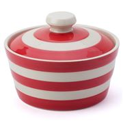 Cornishware - Red Butter Dish