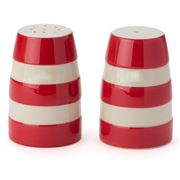 Cornishware - Red Salt & Pepper Shaker Set