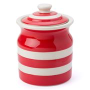 Cornishware - Red Medium Storage Jar 840ml