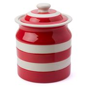 Cornishware - Red Large Storage Jar 1.68L