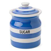 Cornishware - Sugar Storage Jar Blue 840ml