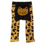 Tippy Toes - Ocelot Footless Tights 6-12 Months