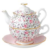 Royal Albert - Rose Confetti Tea For One