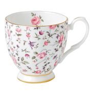 Royal Albert - Rose Confetti Vintage Footed Mug