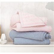 Sheridan - Baby Cottonball Chambray Blanket