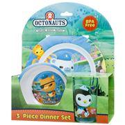 Octonauts - Mealtime Set 3pce