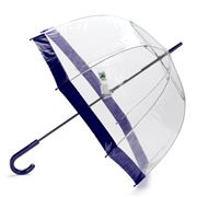 Clifton - Birdcage Umbrella with Navy Border